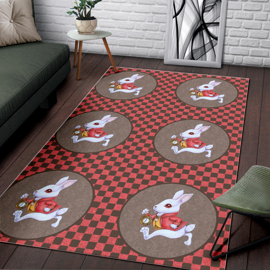 Floor Rug Alice In Wonderland 3-02
