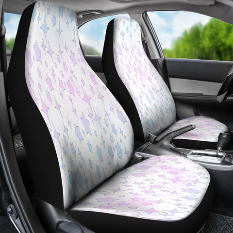 Unicorn Starry Night Pastel Car Seat Covers