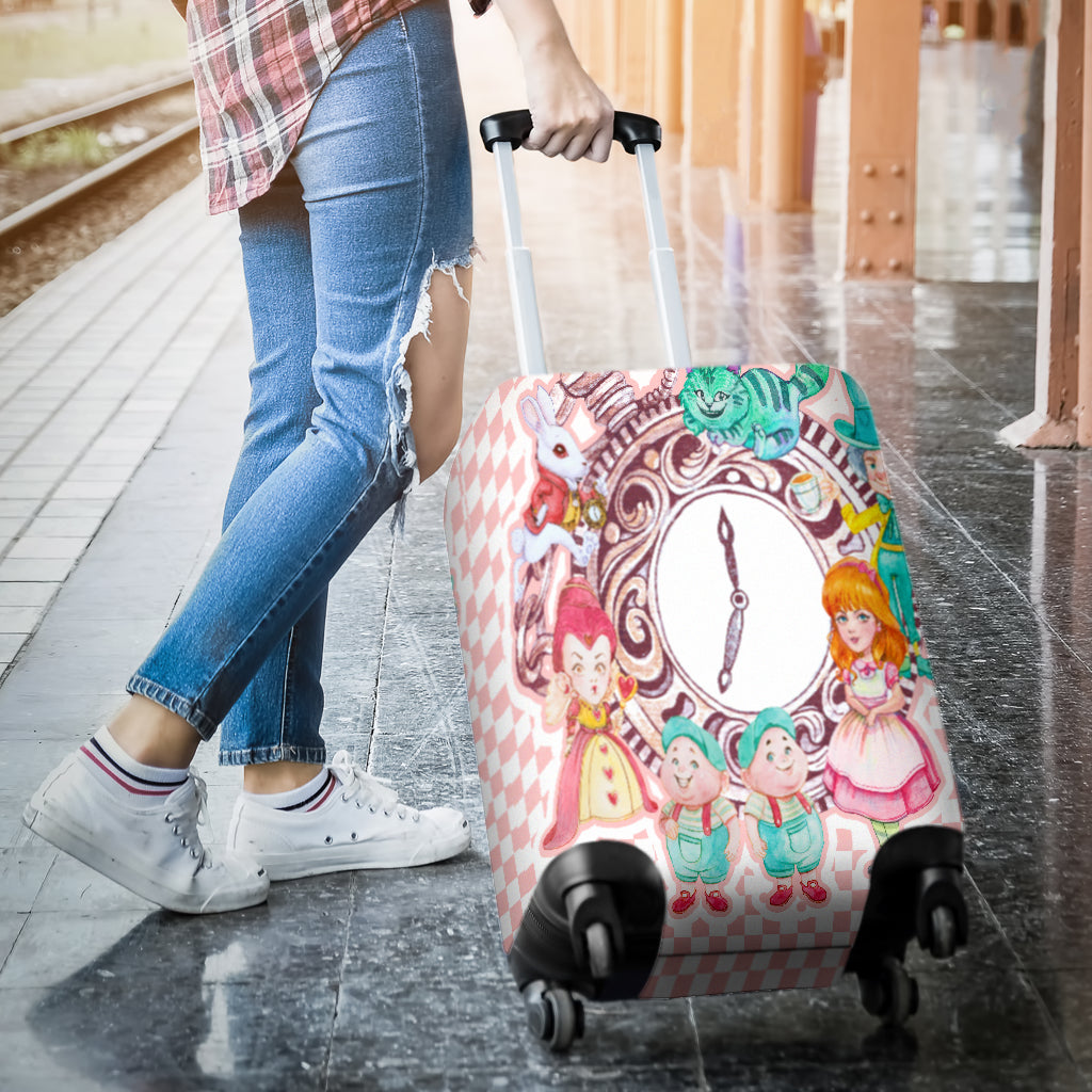 Alice And The Gang Luggage Cover - STUDIO 11 COUTURE
