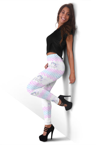 Women Leggings Sexy Printed Fitness Fashion Gym Dance Workout Unicorn Theme M10