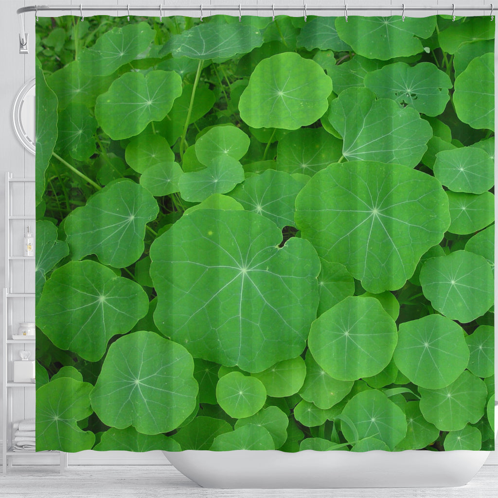 Water Lilies Shower Curtain - STUDIO 11 COUTURE