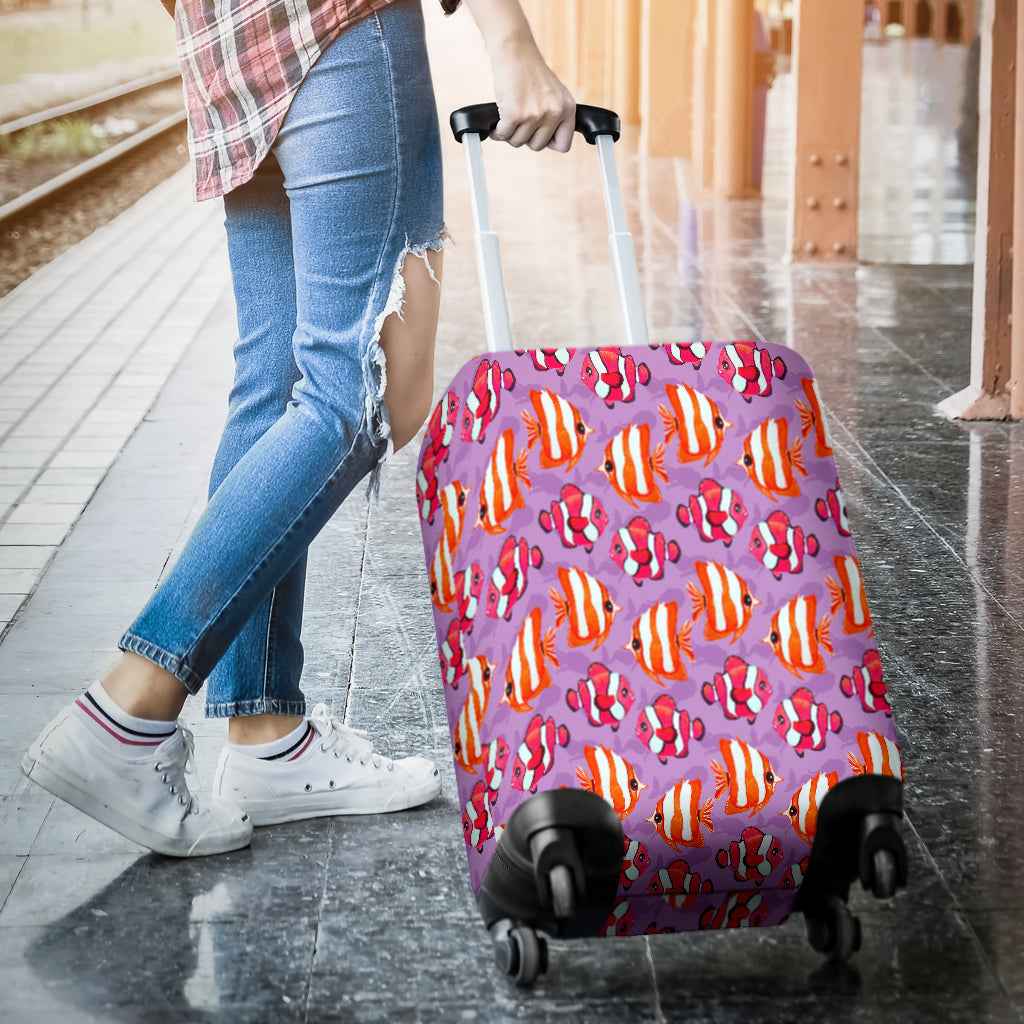 Clownfish Luggage Cover - STUDIO 11 COUTURE