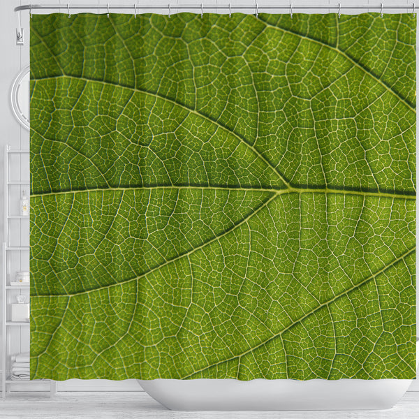 Leaf Shower Curtain - STUDIO 11 COUTURE