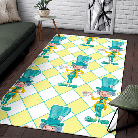 Floor Rug Alice In Wonderland 4-14