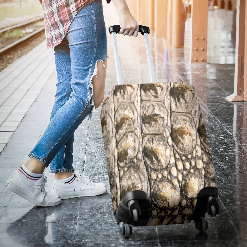 Alligator Skin Luggage Cover