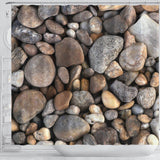 Rocks Shower Curtain - STUDIO 11 COUTURE