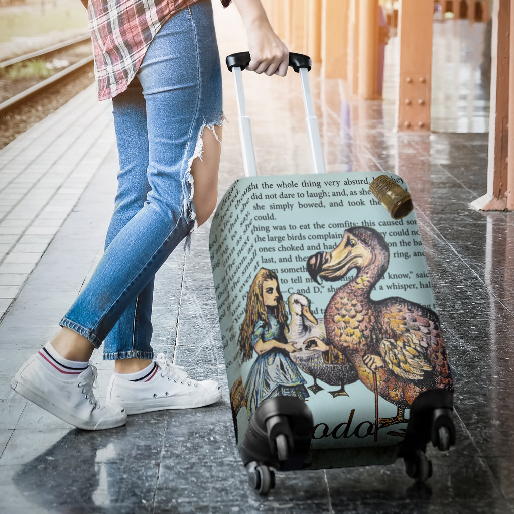 Dodo Alice In Wonderland Luggage Cover