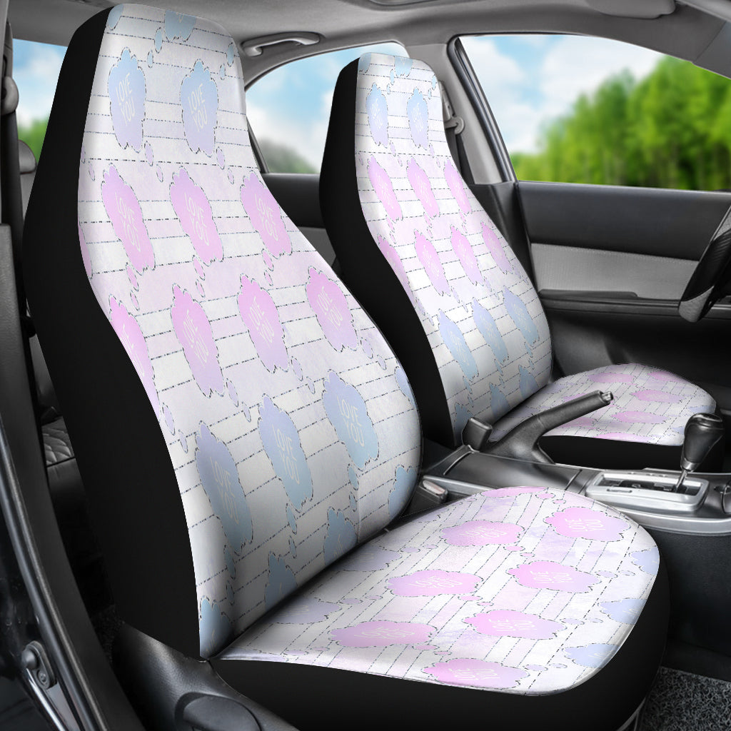 Unicorn Cloudy Skies Car Seat Covers