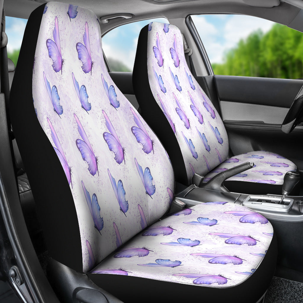 Lady Butterfly Car Seat Covers