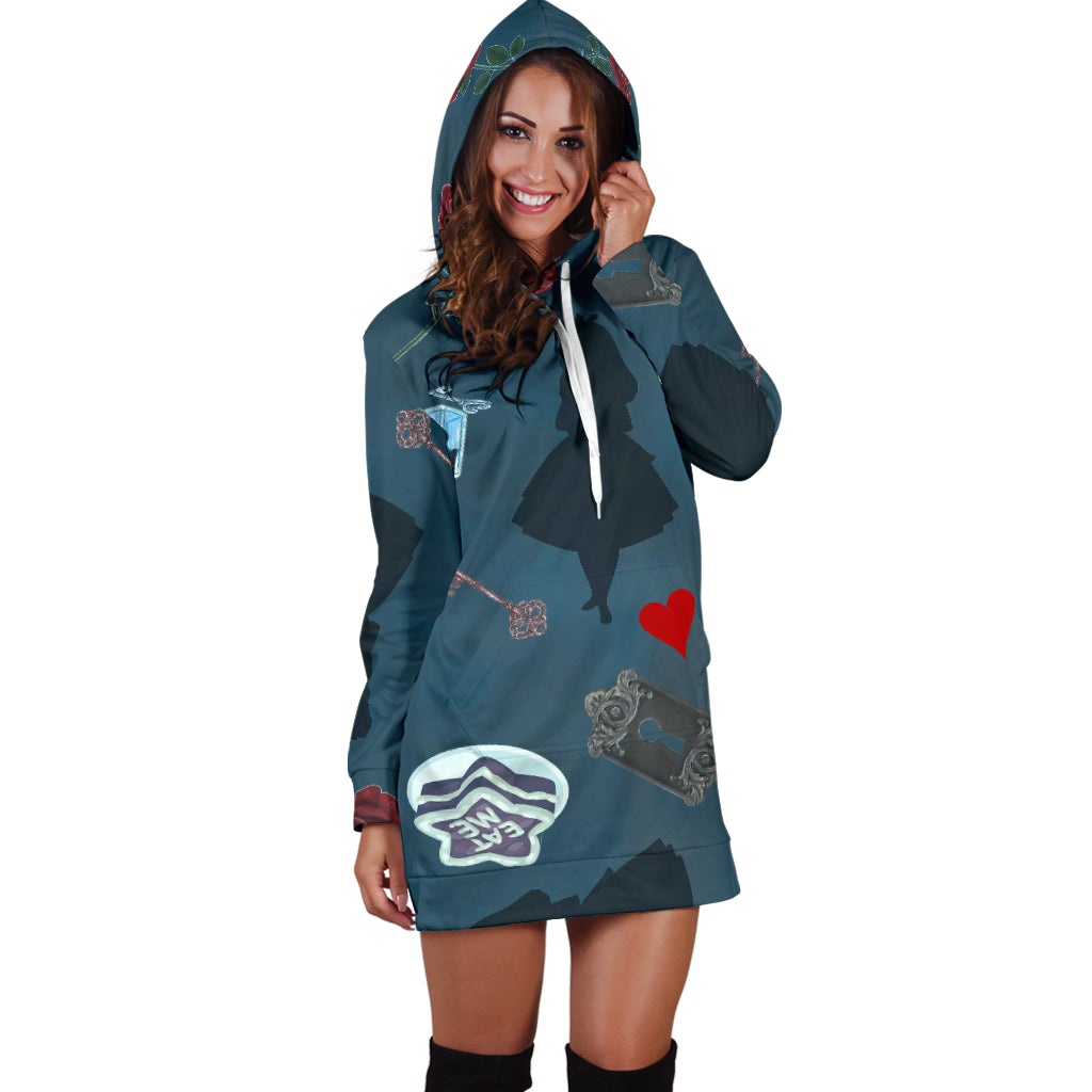 Alice Women's Hoodie Dress
