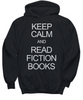 Image of Women and Men Tee Shirt T-Shirt Hoodie Sweatshirt Keep Calm and Read Fiction Books