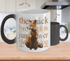 Image of Color Changing Mug Animals The Quick Brown Fox Jump Over A Dog