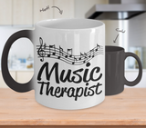 Color Changing Mug Music Theme Music Therapist