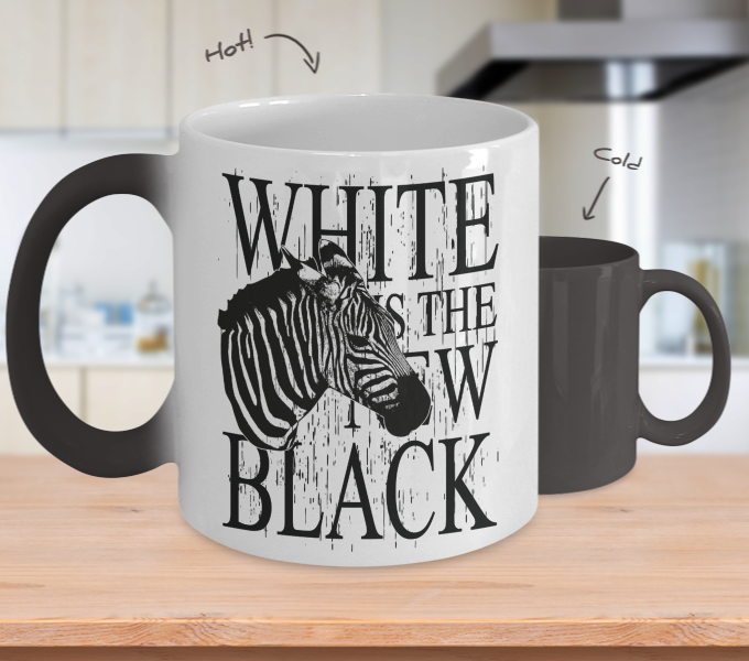 Color Changing Mug Animals White Is The New Black