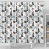 Steampunk 3 Shower Curtain - STUDIO 11 COUTURE