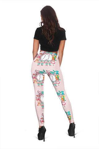 Women Leggings Sexy Printed Fitness Fashion Gym Dance Workout Alice In Wonderland Theme A37
