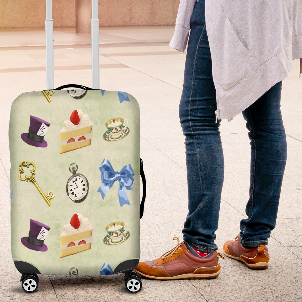 Alice in Wonderland 2 Luggage Cover - STUDIO 11 COUTURE