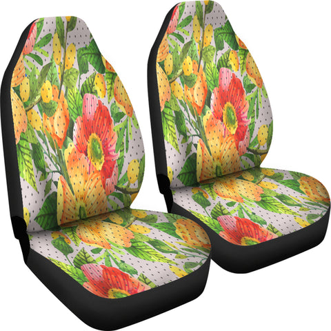 Amazing Floral Spring Car Seat Covers