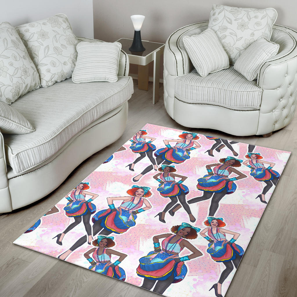 Floor Rug 80s Fashion 04