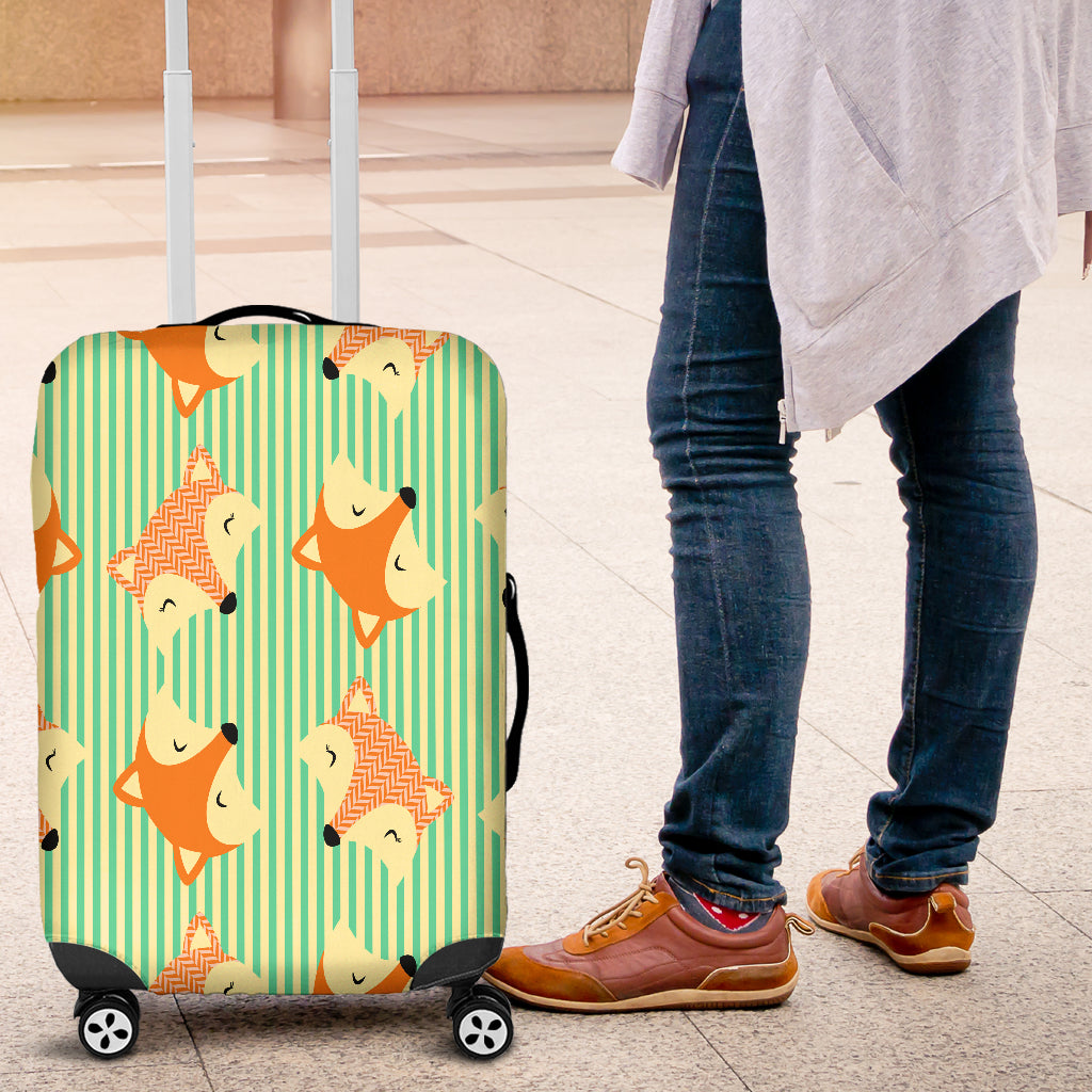 Cute Fox 5 Luggage Cover