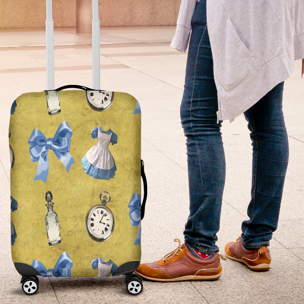 Alice in Wonderland 1 Luggage Cover - STUDIO 11 COUTURE