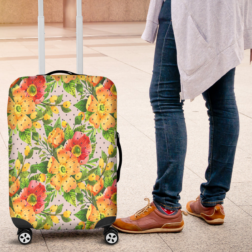 Floral Spring 7 Luggage Cover