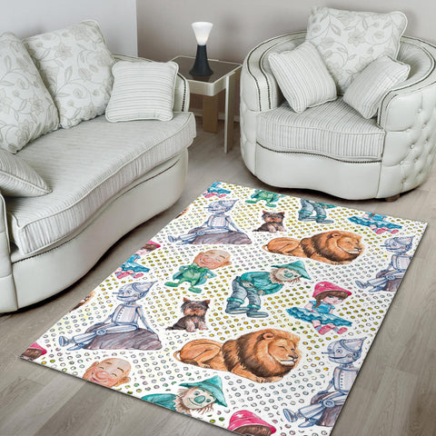 Floor Rug Wizard Of Oz 1-12
