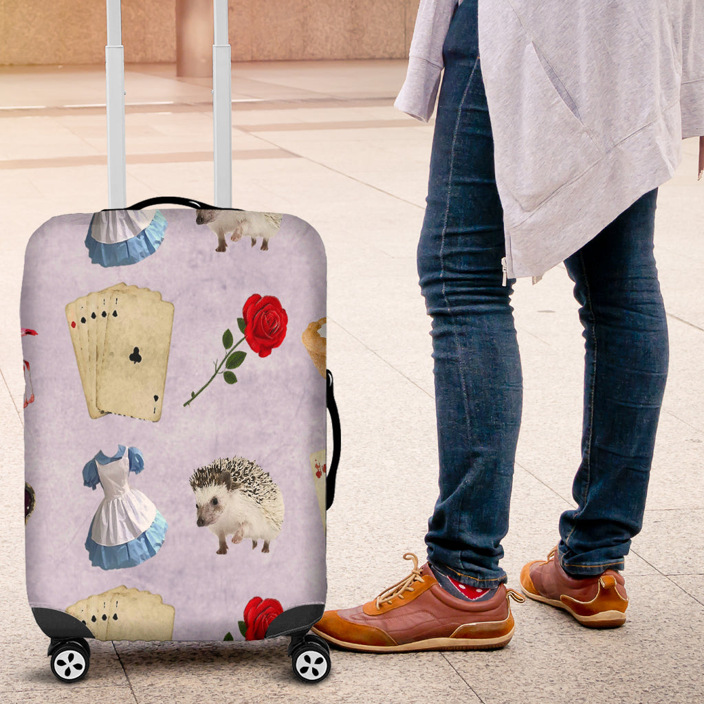 Alice in Wonderland 5 Luggage Cover - STUDIO 11 COUTURE