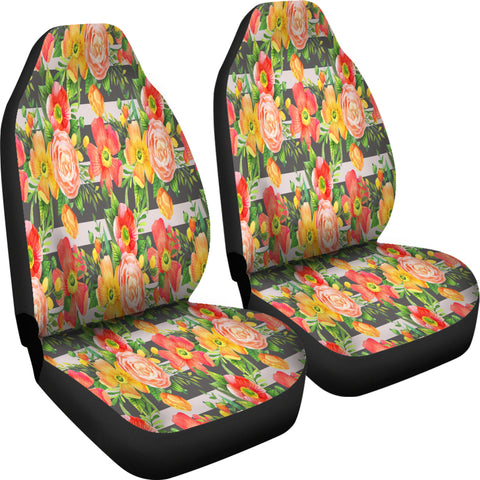 Dazzling Floral Spring Car Seat Covers