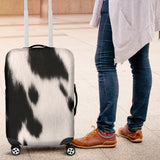 Cow Skin Luggage Cover - STUDIO 11 COUTURE