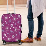 Frozen Snowing Luggage Cover - STUDIO 11 COUTURE