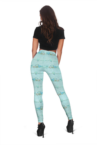Women Leggings Sexy Printed Fitness Fashion Gym Dance Workout Summer Mermaids Theme J07