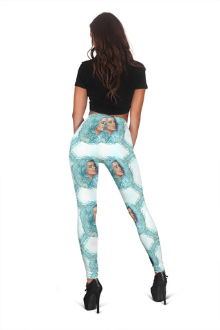 Women Leggings Sexy Printed Fitness Fashion Gym Dance Workout Summer Mermaids Theme J05