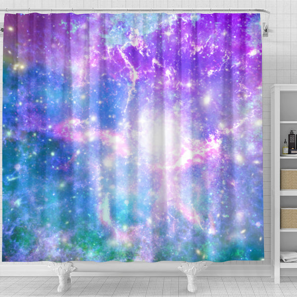 Galaxy Pastel Shower Curtain - STUDIO 11 COUTURE