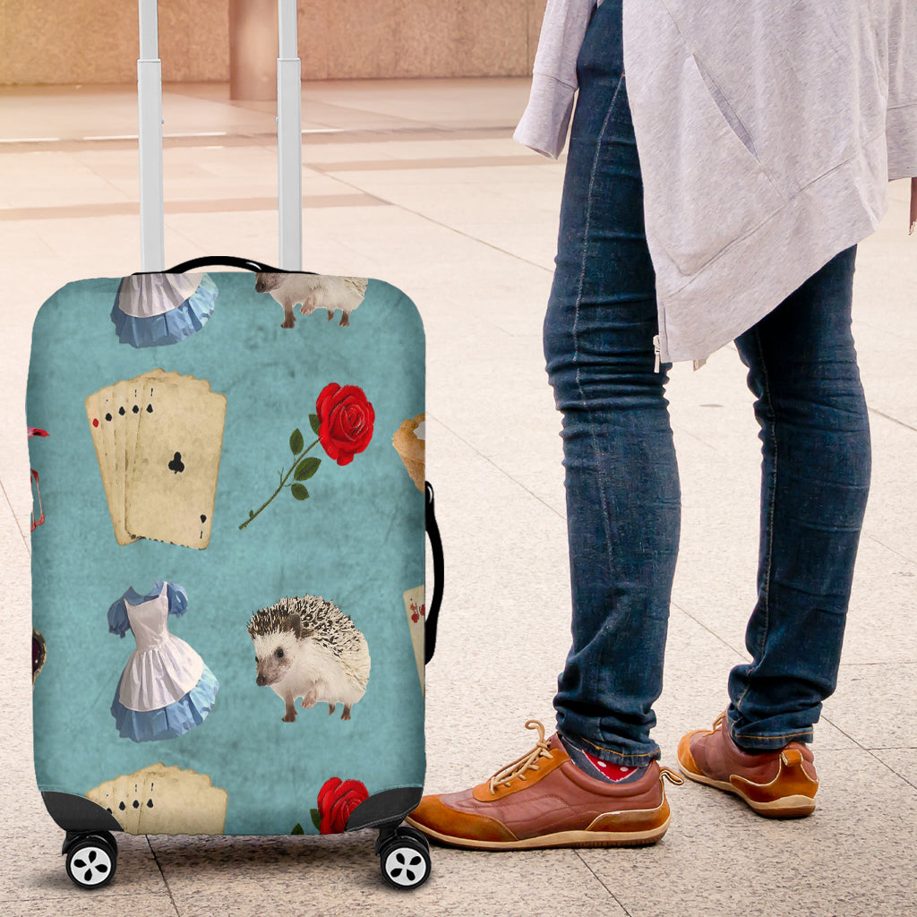 Alice in Wonderland 9 Luggage Cover - STUDIO 11 COUTURE