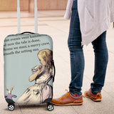 The Tale Of Wonderland Luggage Cover - STUDIO 11 COUTURE