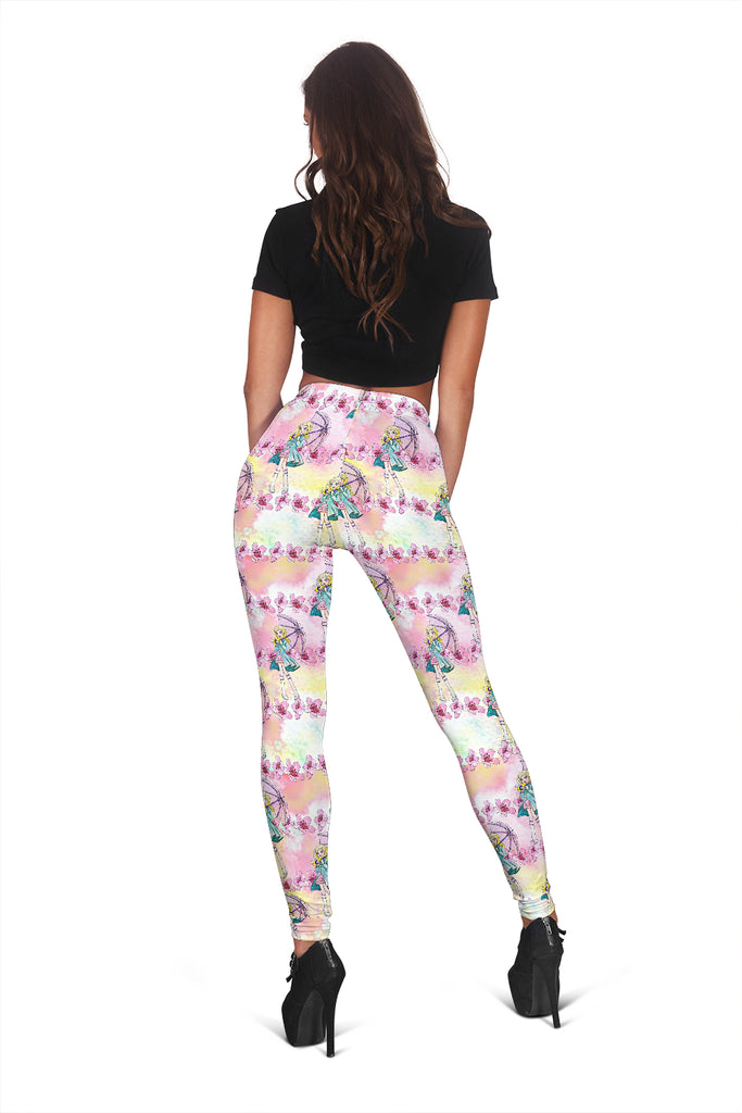 Women Leggings Sexy Printed Fitness Fashion Gym Dance Workout Spring Theme G13