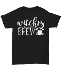 Women and Men Tee Shirt T-Shirt Hoodie Sweatshirt Witch Brew