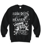 Image of Women and Men Tee Shirt T-Shirt Hoodie Sweatshirt Because Someone I Love Is In Heaven There's a Little Bit of Heaven in My Home My Brother