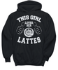 Image of Women and Men Tee Shirt T-Shirt Hoodie Sweatshirt This Girl Loves Her Lattes