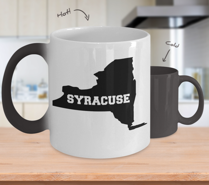 Color Changing Mug Love Where You Live Theme Syracuse