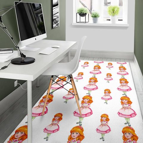 Floor Rug Alice In Wonderland 4-04