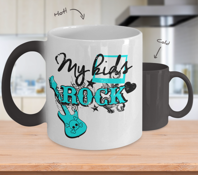 Color Changing Mug Family Theme My Kids Rock