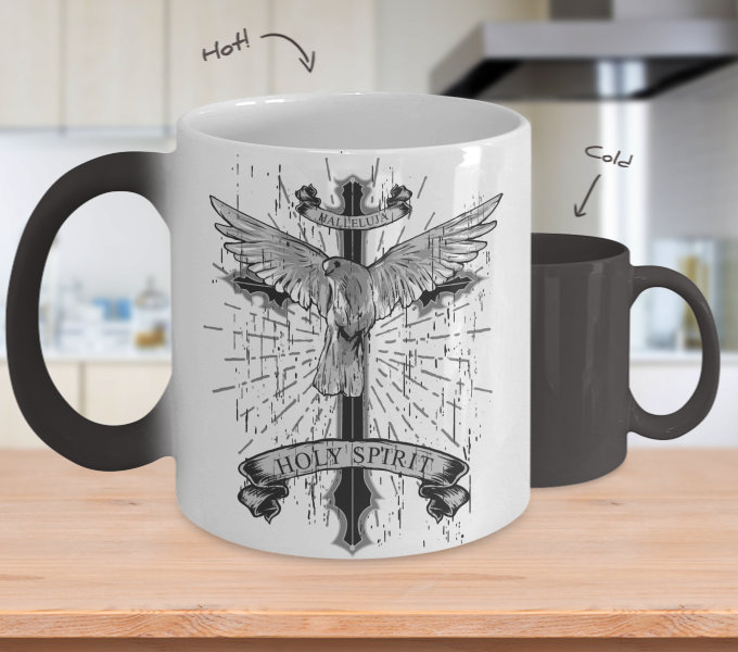 Color Changing Mug Animals HolySpirit
