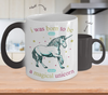 Image of Color Changing Mug Animals I Was Born To Be Love A Magical Unicorn