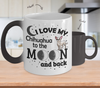 Image of Color Changing Mug Dog Theme I Love My Chihuahua To The Moon And Back