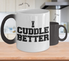 Image of Color Changing Mug Random Theme I Cuddle Better