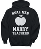 Image of Women and Men Tee Shirt T-Shirt Hoodie Sweatshirt Real Men Marry Teachers