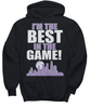 Image of Women and Men Tee Shirt T-Shirt Hoodie Sweatshirt I'm The Best In The Game
