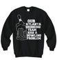 Image of Women and Men Tee Shirt T-Shirt Hoodie Sweatshirt Our Atlanta Drinking Team Has A Bowling Problem